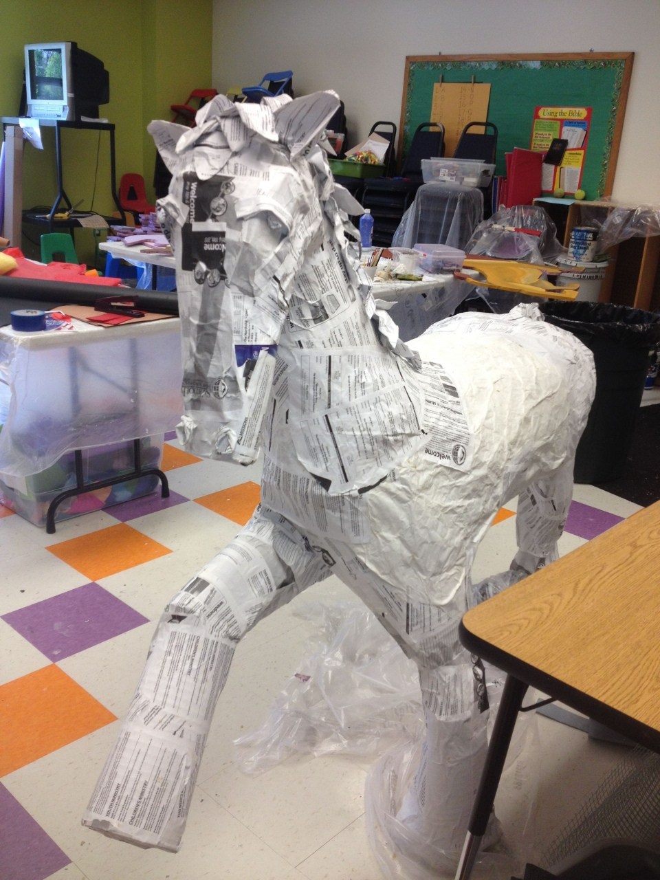 Make Animal Sculptures with Paper Mache Clay — Lorenzo