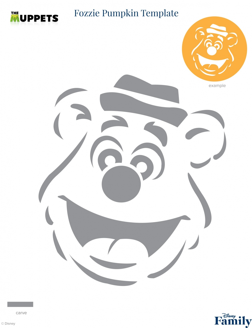 Mickey Mouse Pumpkin Carving Stencil Lorenzo Sculptures