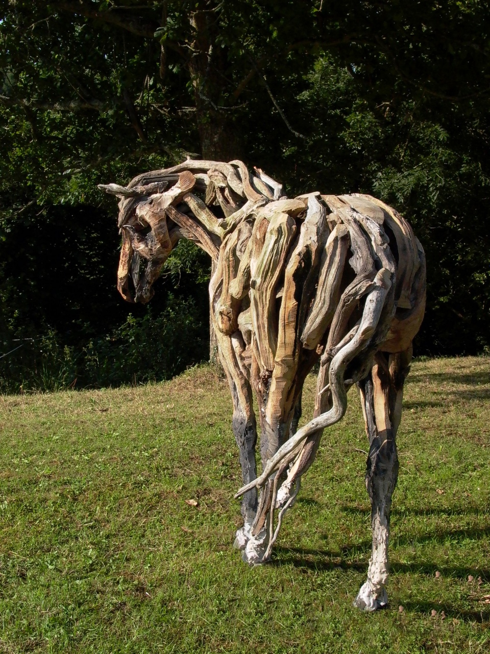 Scrap Metal Horse Sculpture Heather Jansch Sculptor Bronze Driftwood Horse Sculpture For Sale Lorenzo Sculptures Scrap Metal Horse Sculpture